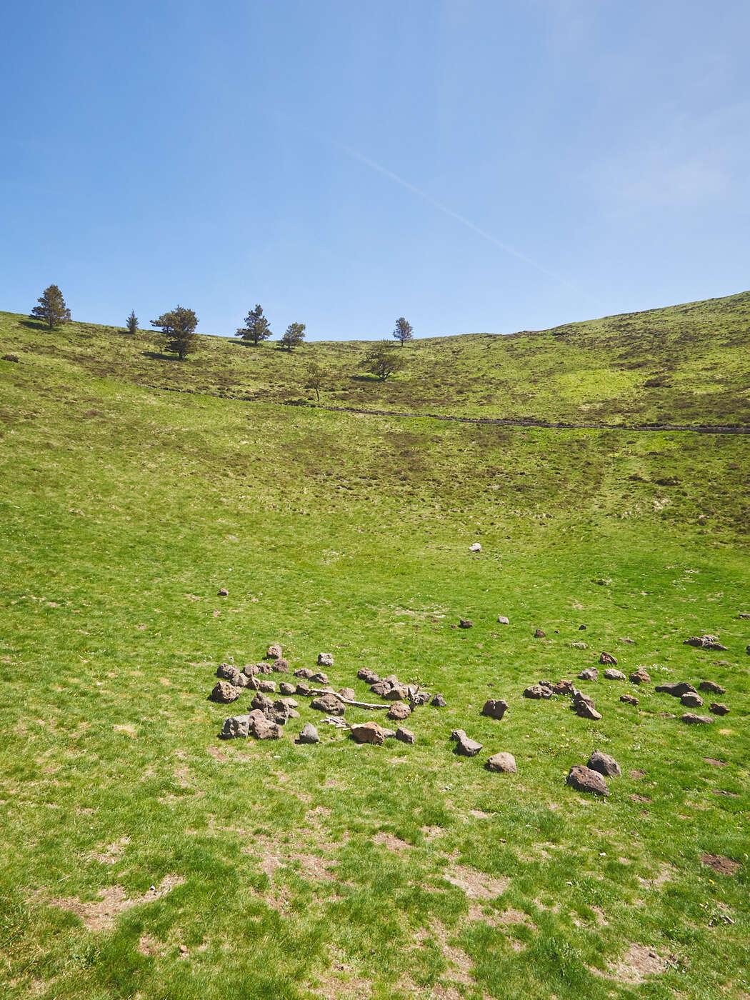 Fond du cratère du Puy Pariou