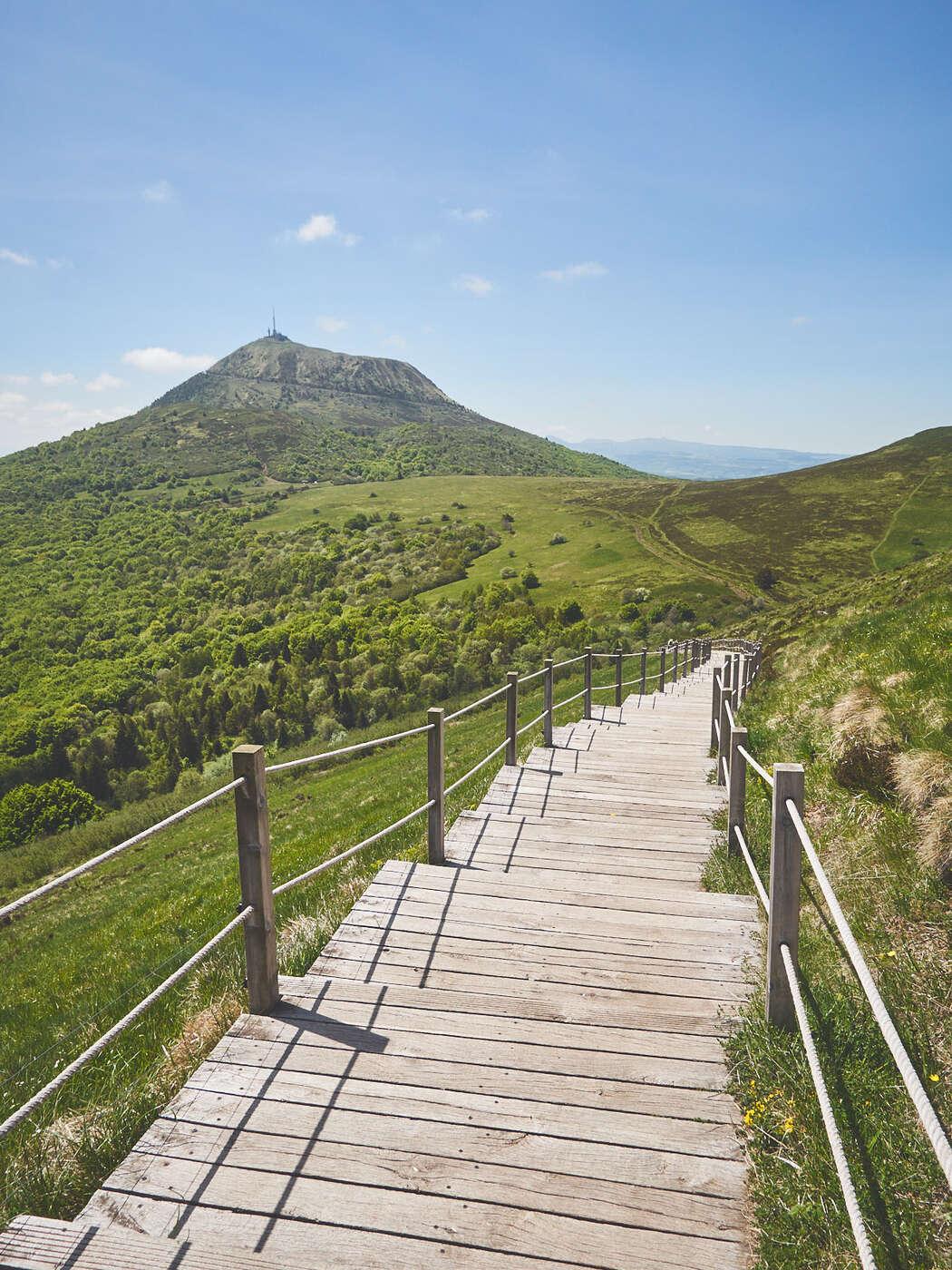 Descente du Puy Pariou