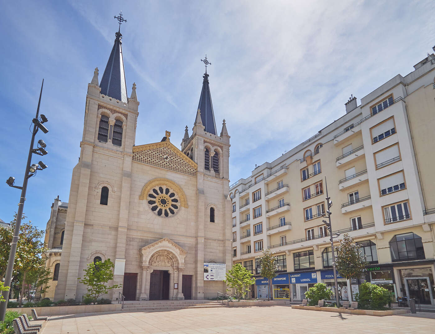 Eglise Saint-Louis, Vichy
