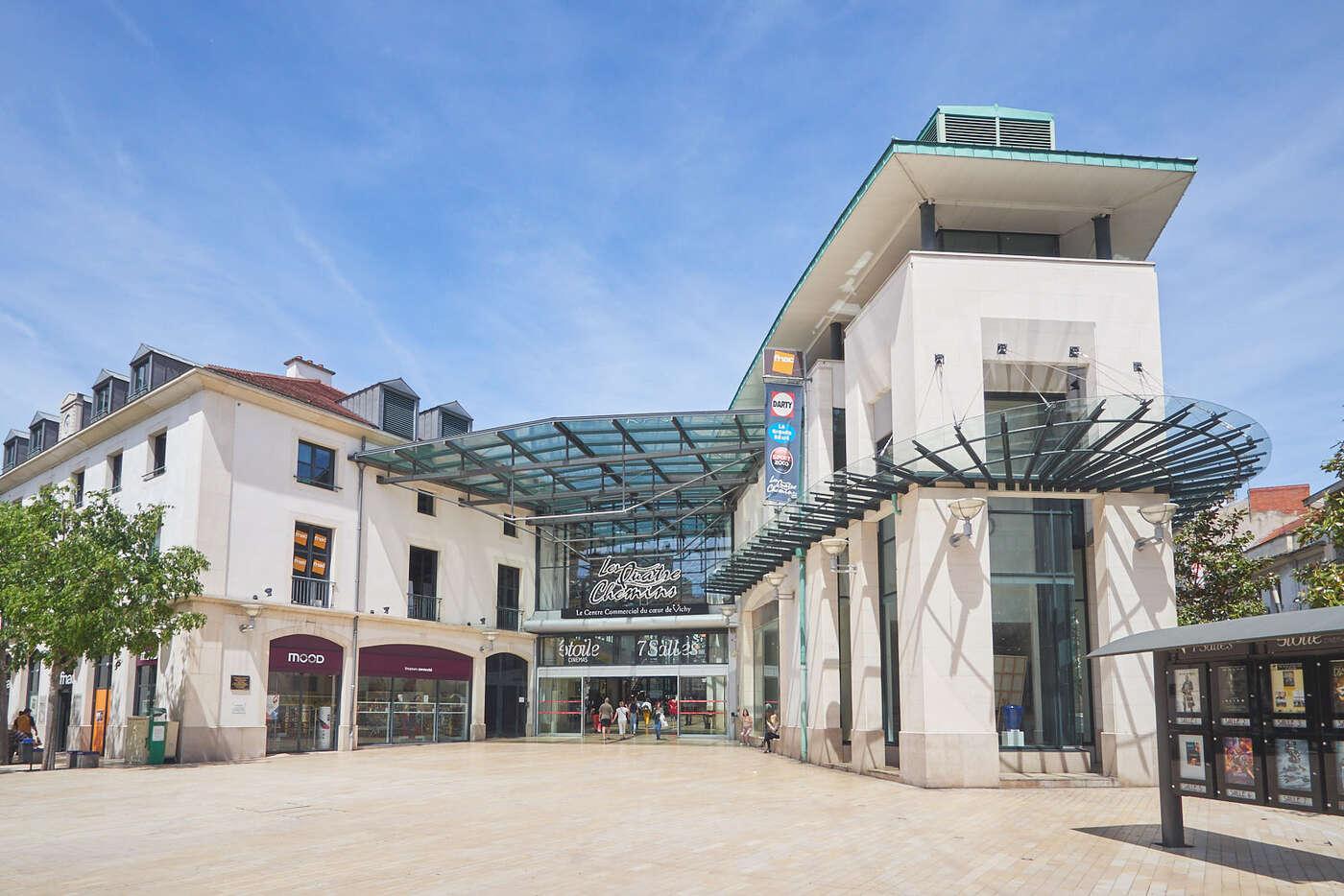 Centre commercial Les Quatre Chemins de Vichy