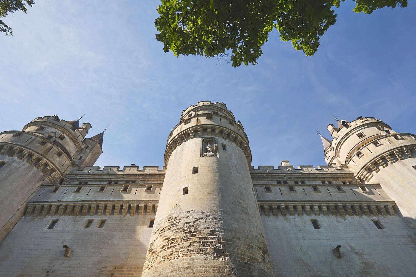 Remparts du château de Pierrefonds