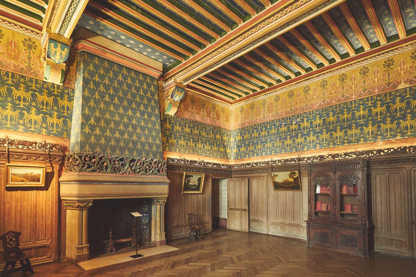 Cabinet de travail du château de Pierrefonds