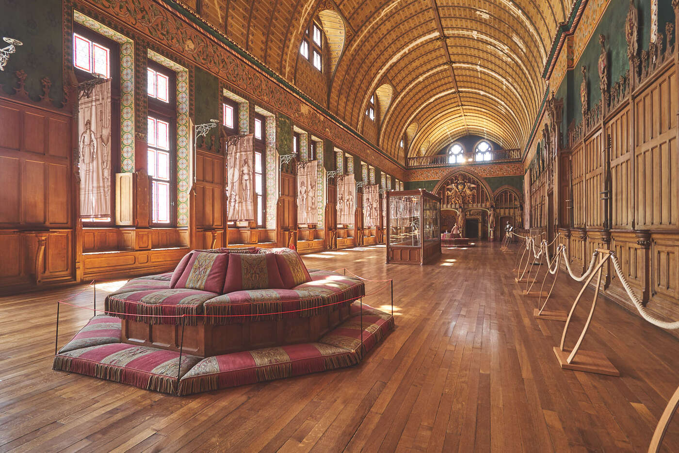 Salle des Preuses du château de Pierrefonds