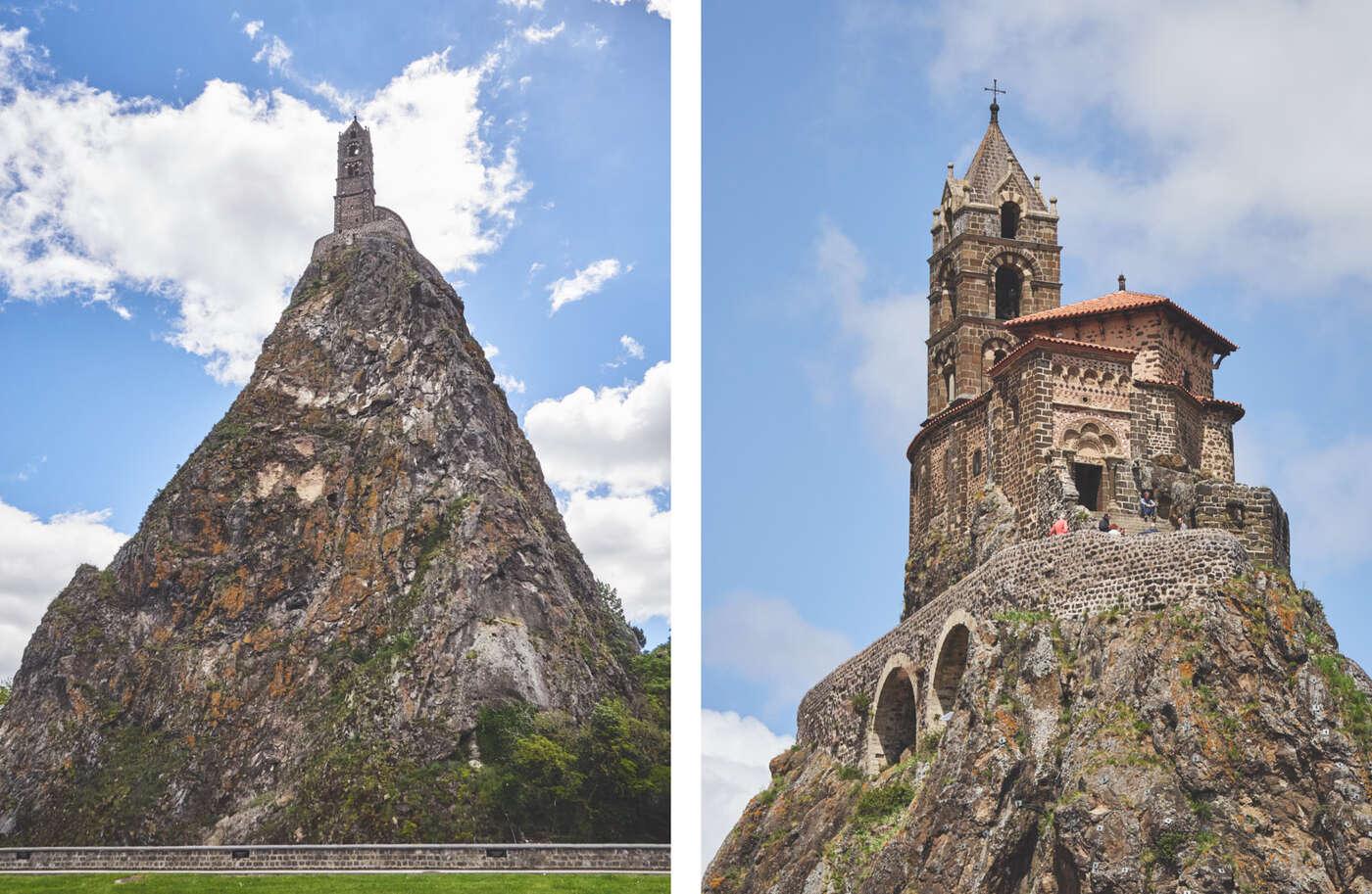 Aiguilhe et chapelle Saint-Michel