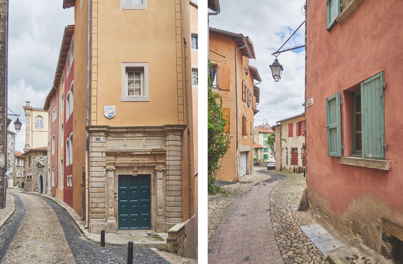 Rues colorées à Puy-en-Velay