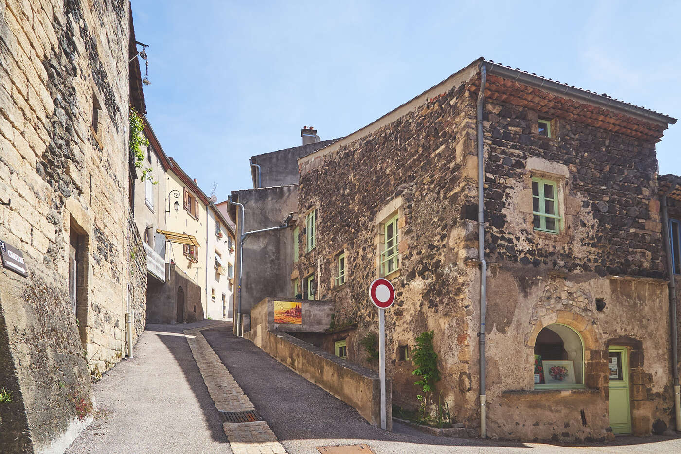 Rue de la côte Gros Jean, Saint-Saturnin