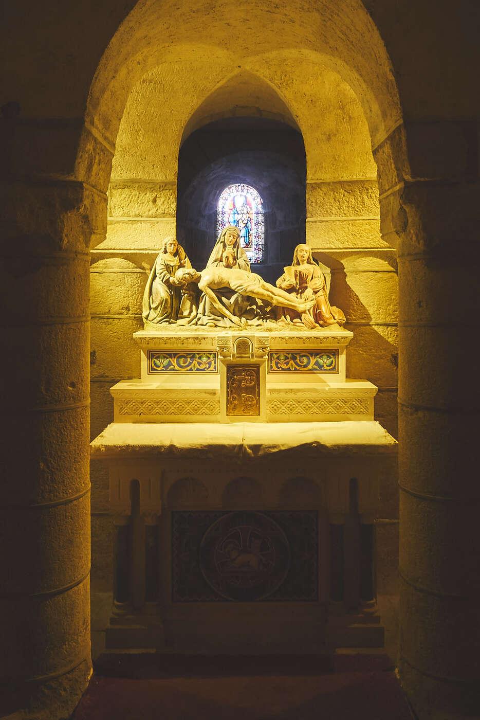 Crypte de Notre-Dame de Saint-Saturnin