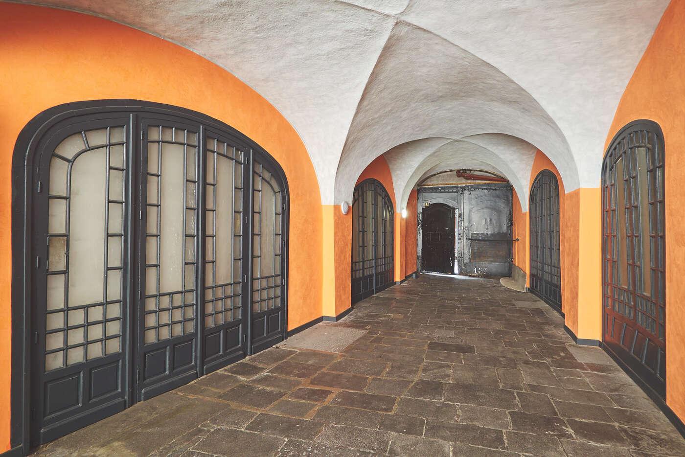 Passage d'immeuble