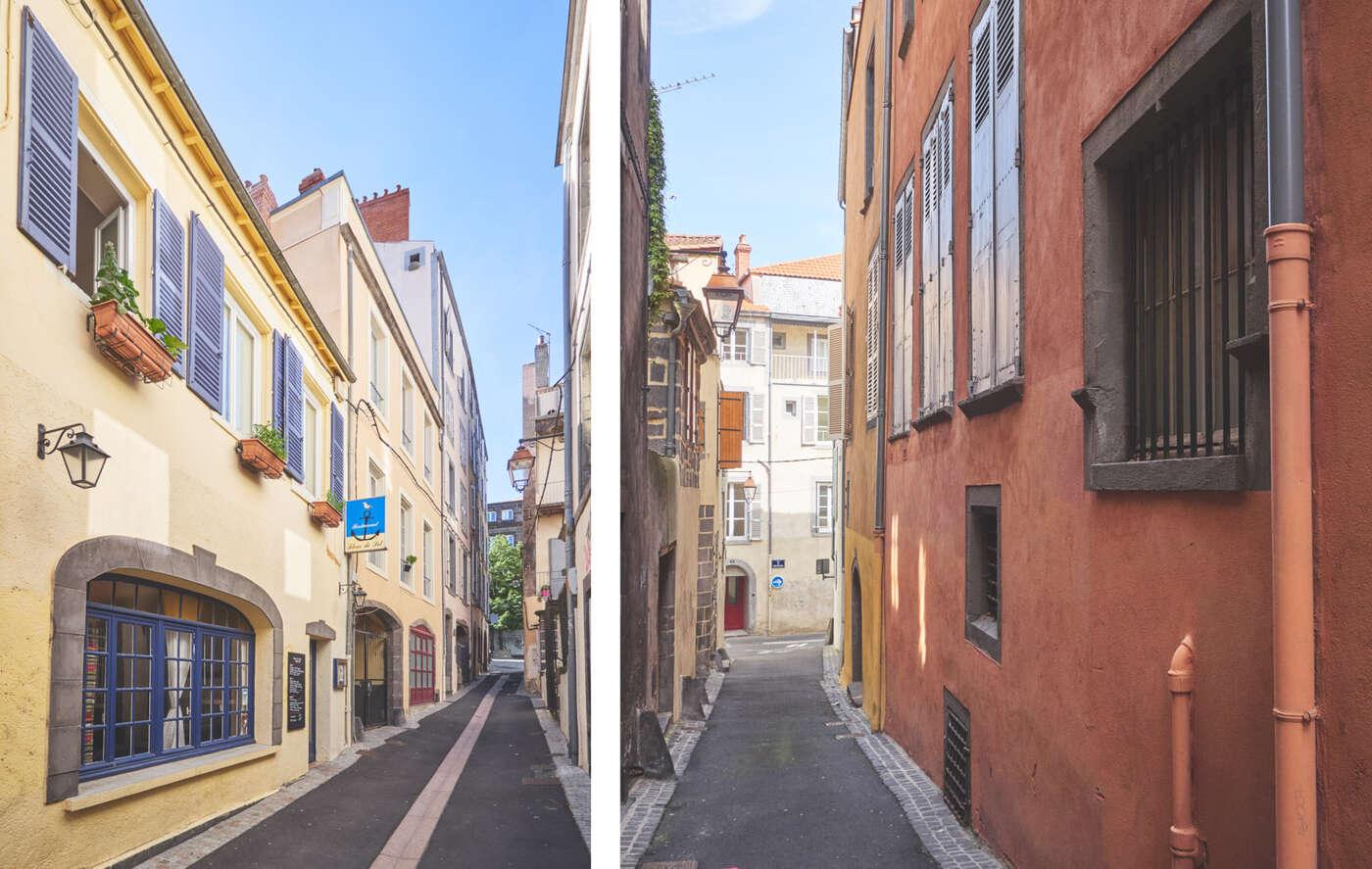 Rues colorées de Clermont-Ferrand