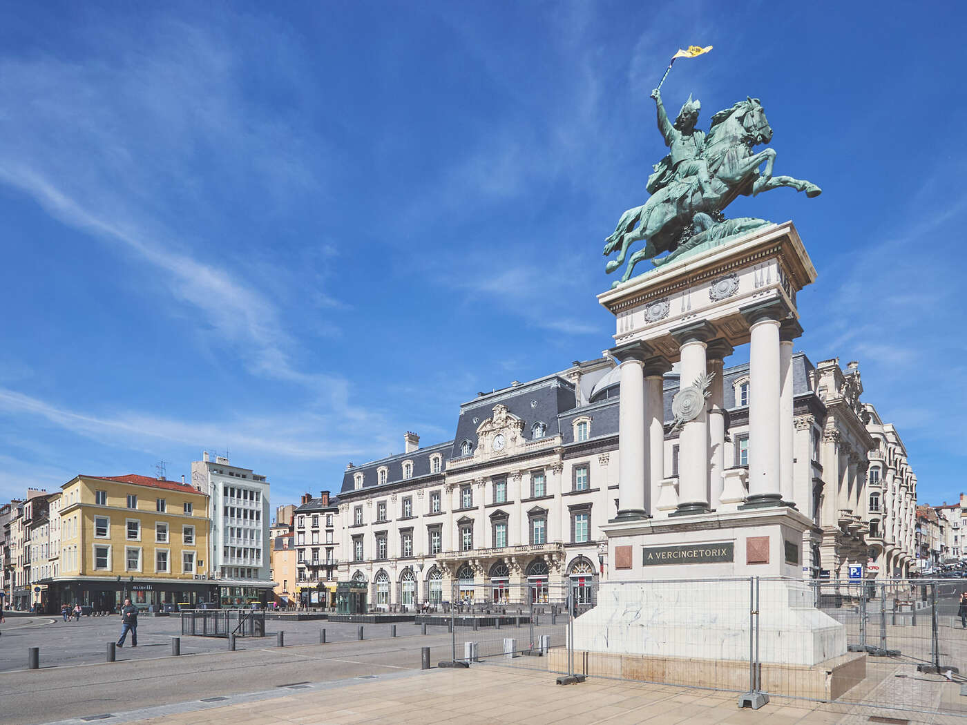 Place de Jaude à Clermont-Ferrand