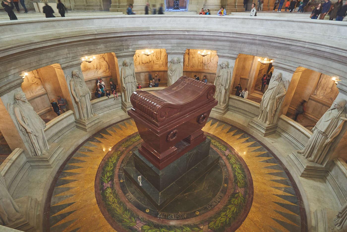 Tombeau de Napoléon 1er aux Invalides
