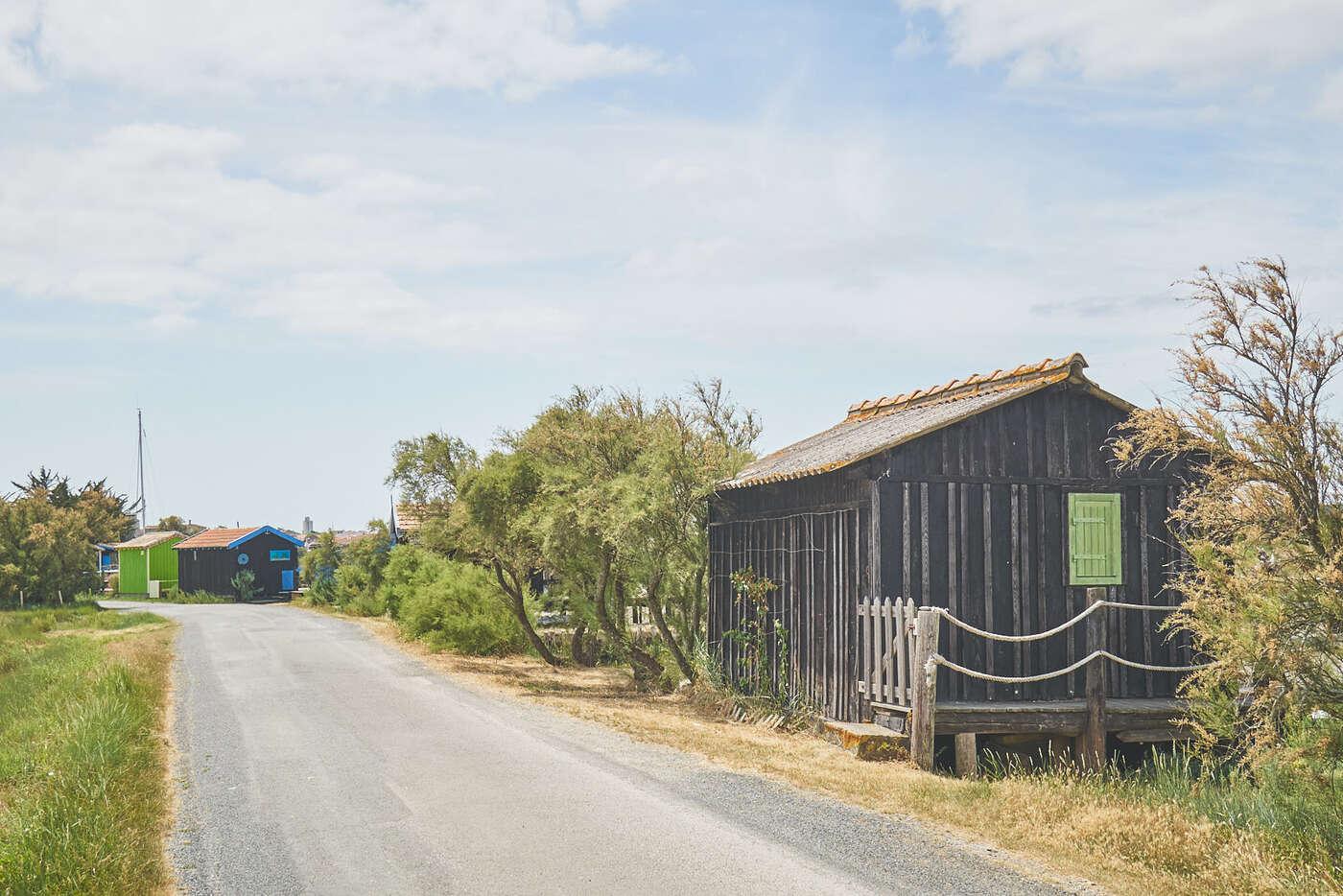 Cabanes de Mornac-sur-Seudre