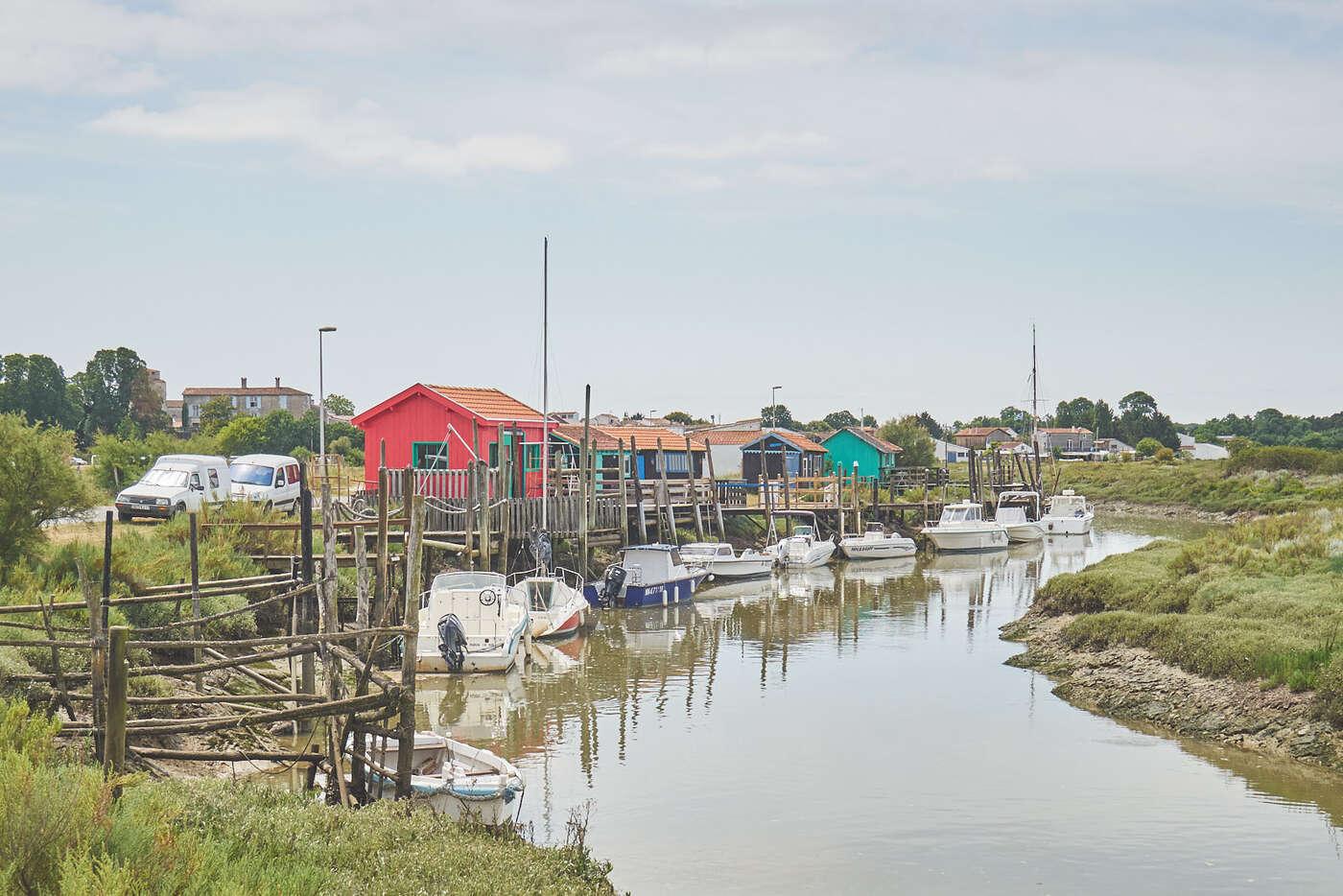 Cabanes de pêcheurs à Mornac-sur-Seudre