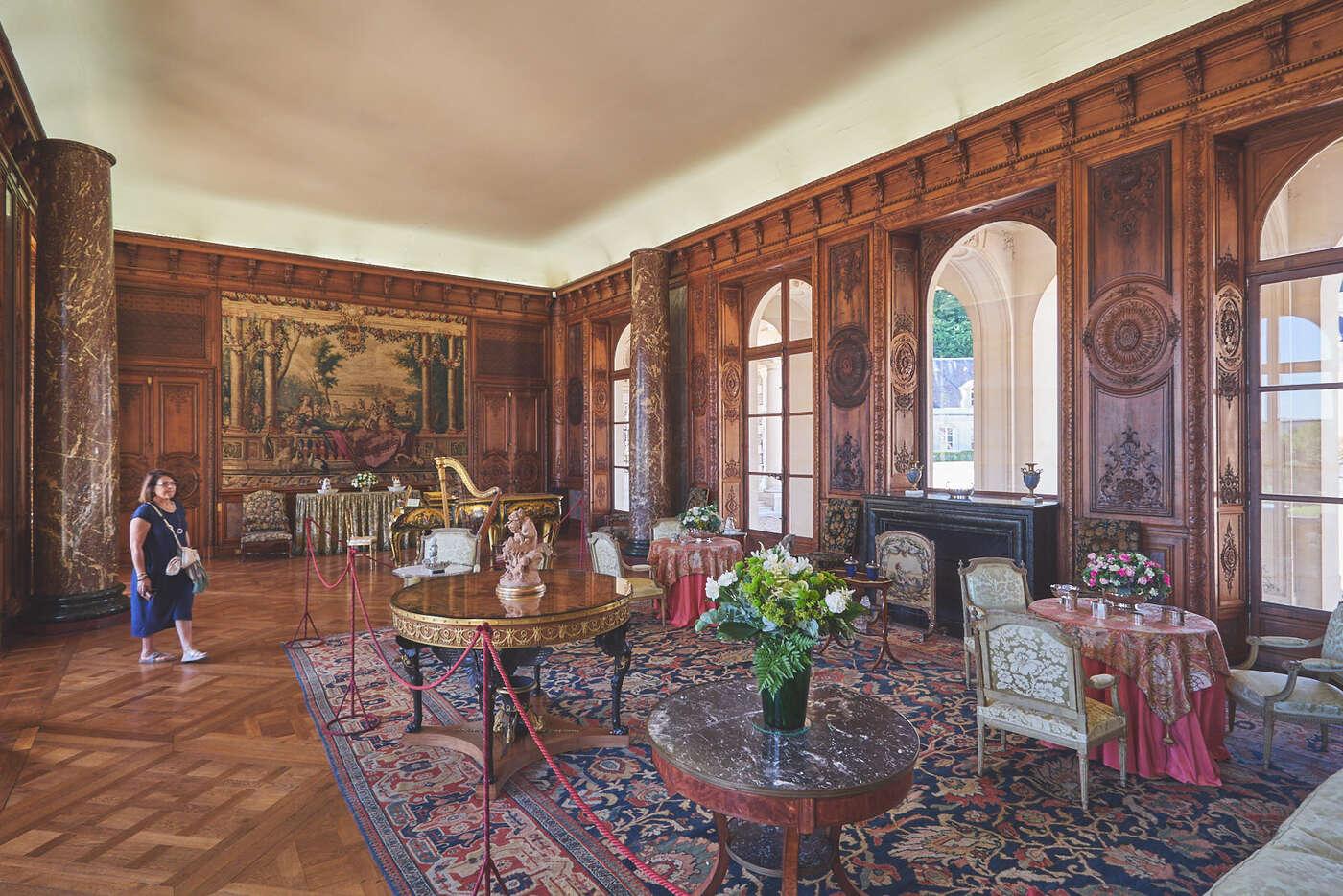 Intérieurs du château de Bizy