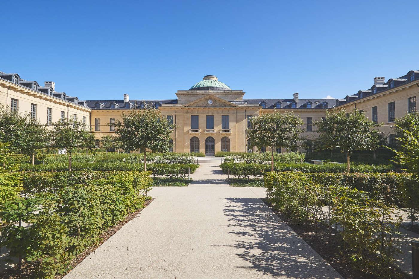 Jardin de l'Hôpital Richaud, Versailles