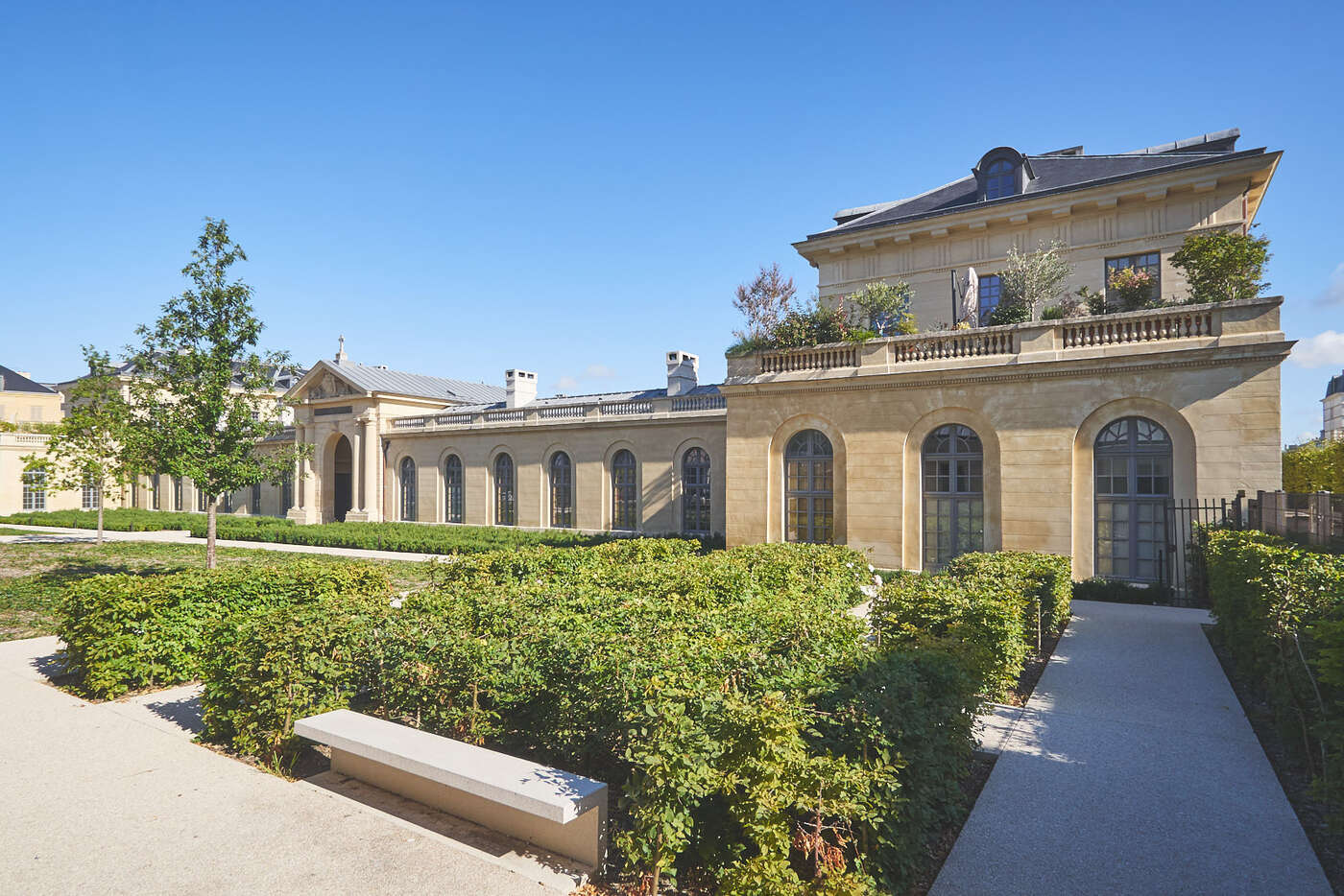 Jardin des Soeurs de Saint-Vincent-De-Paul, Versailles
