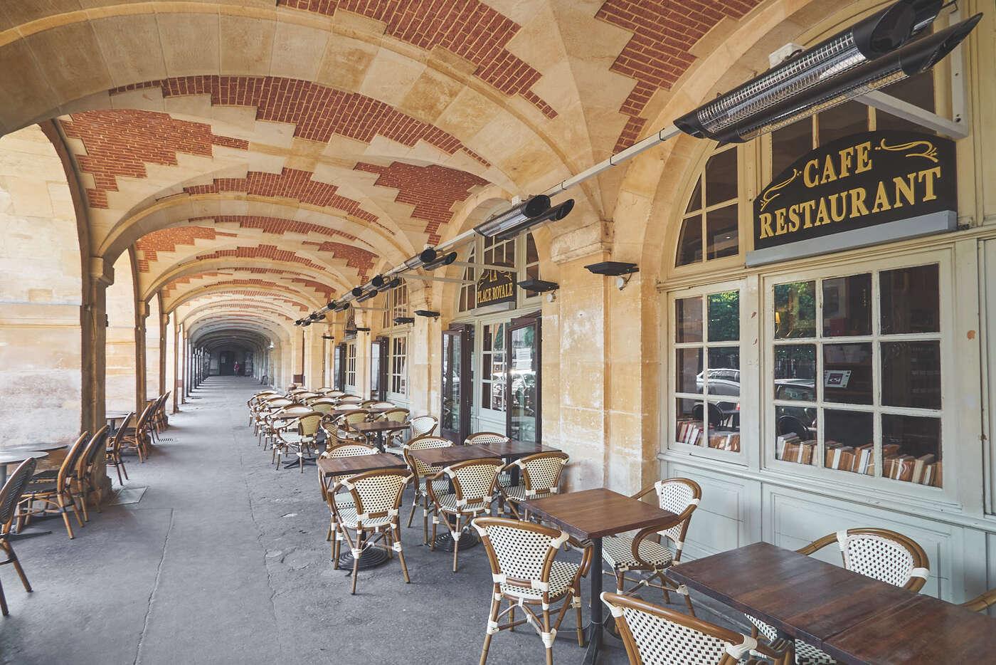 Restaurant de la Place des Vosges