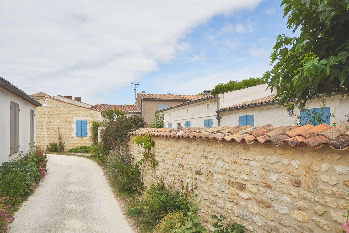 Rue de l'Amiénois à Talmont-sur-Gironde