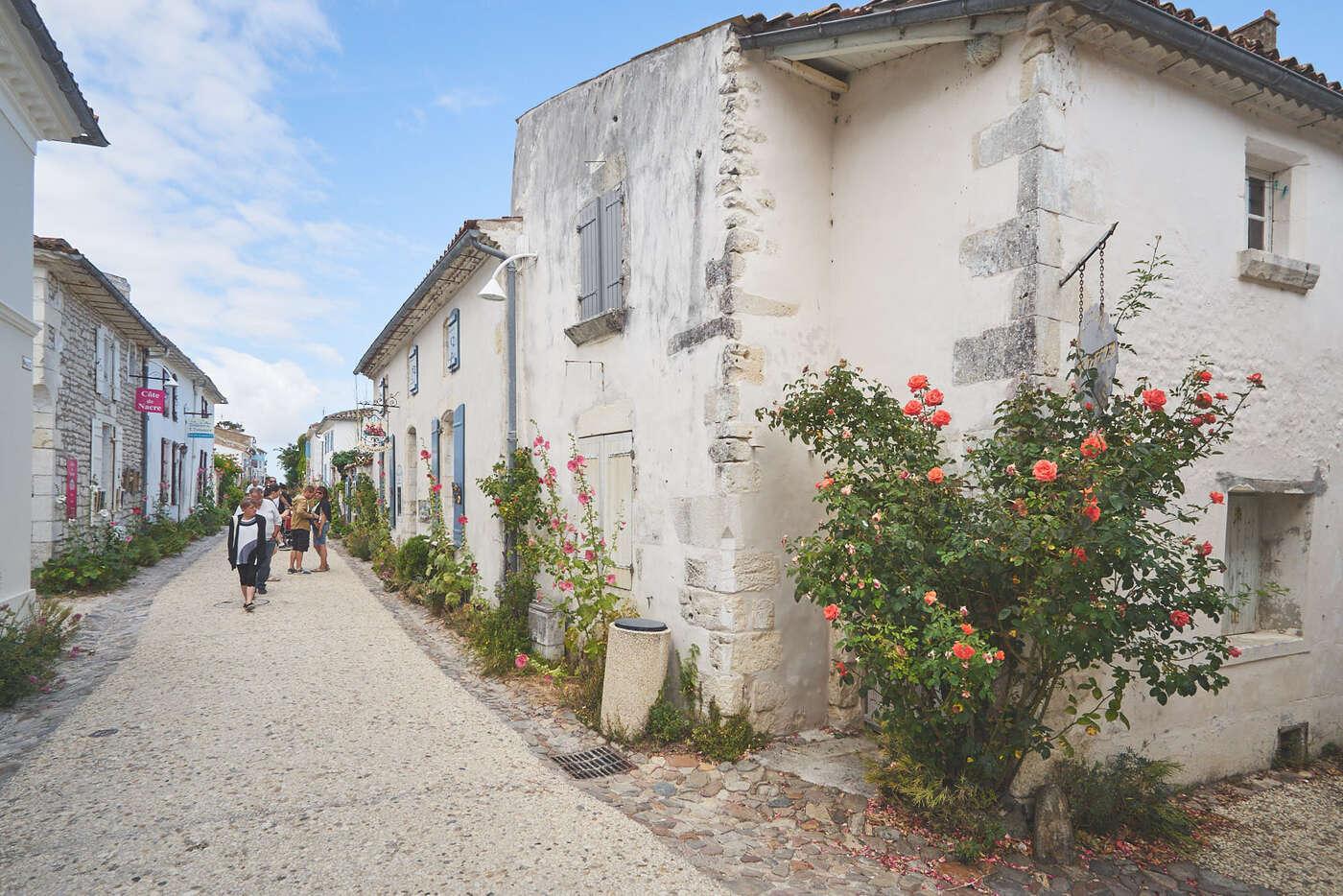 Rue du Port de Talmont-sur-Gironde
