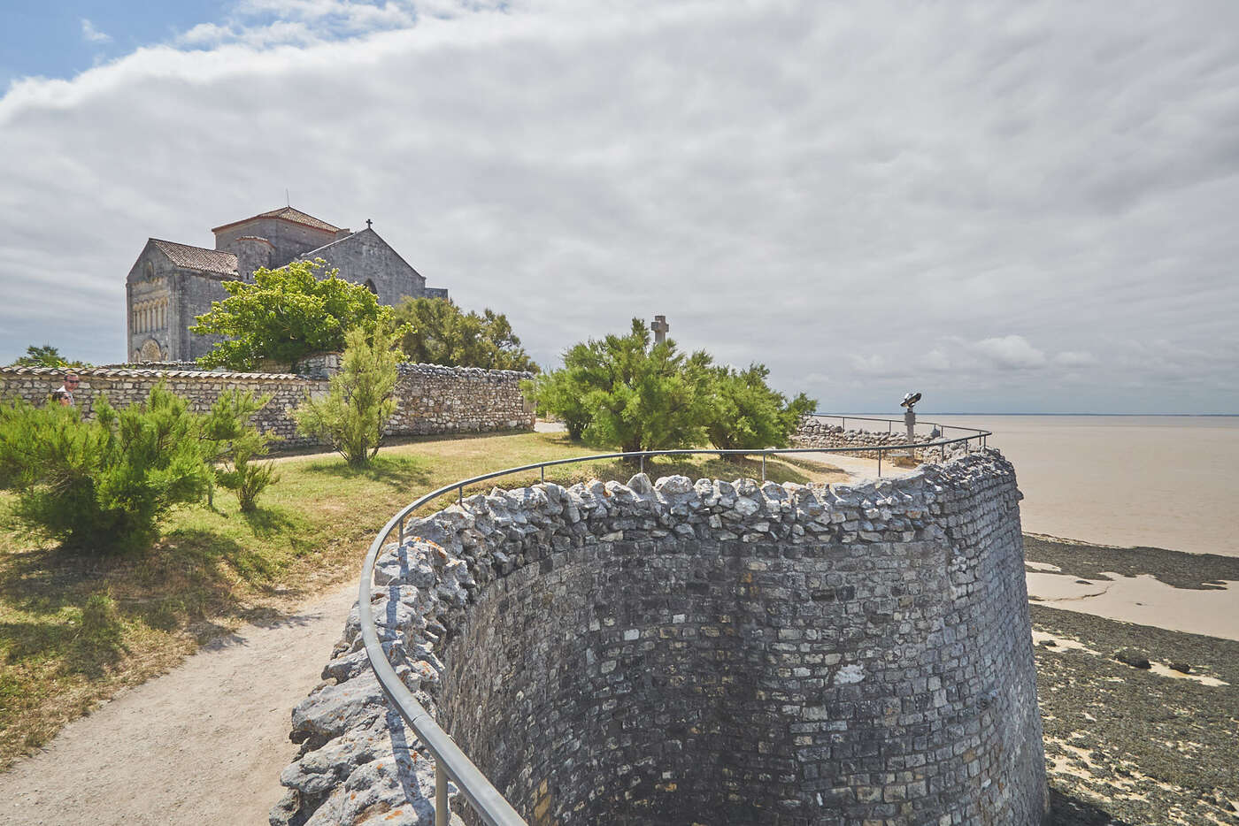 Remparts de Talmont-sur-Gironde