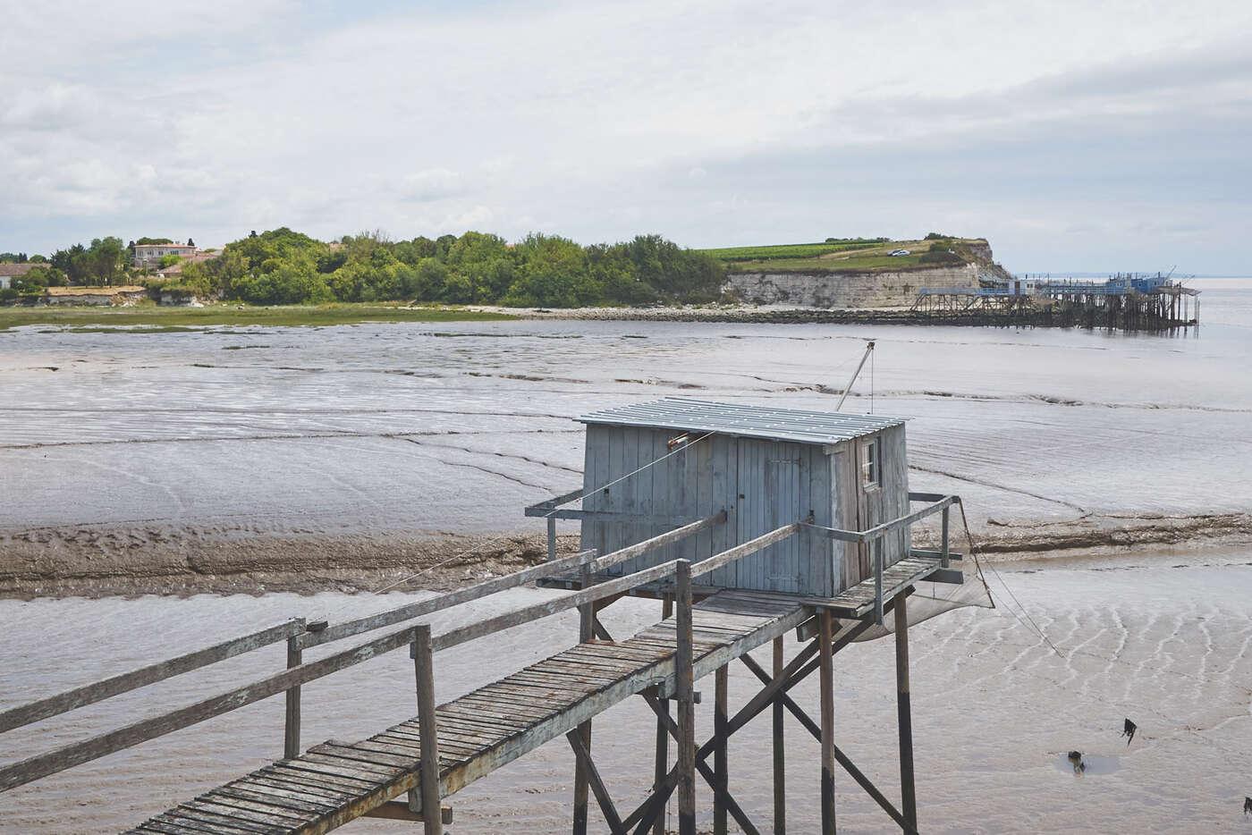 Cabanes de pêcheurs de Talmont-sur-Gironde