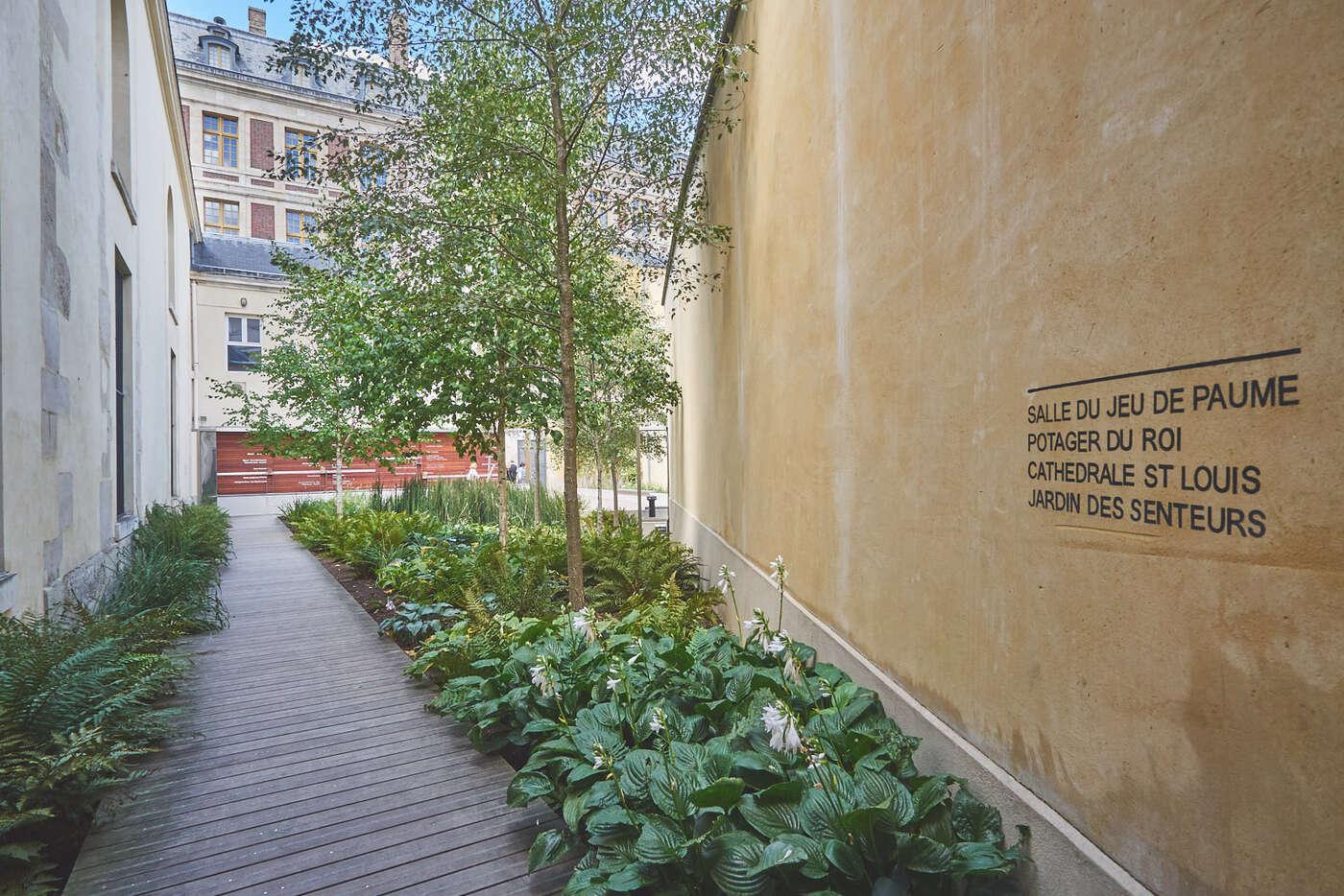 Quartier des senteurs à Versailles