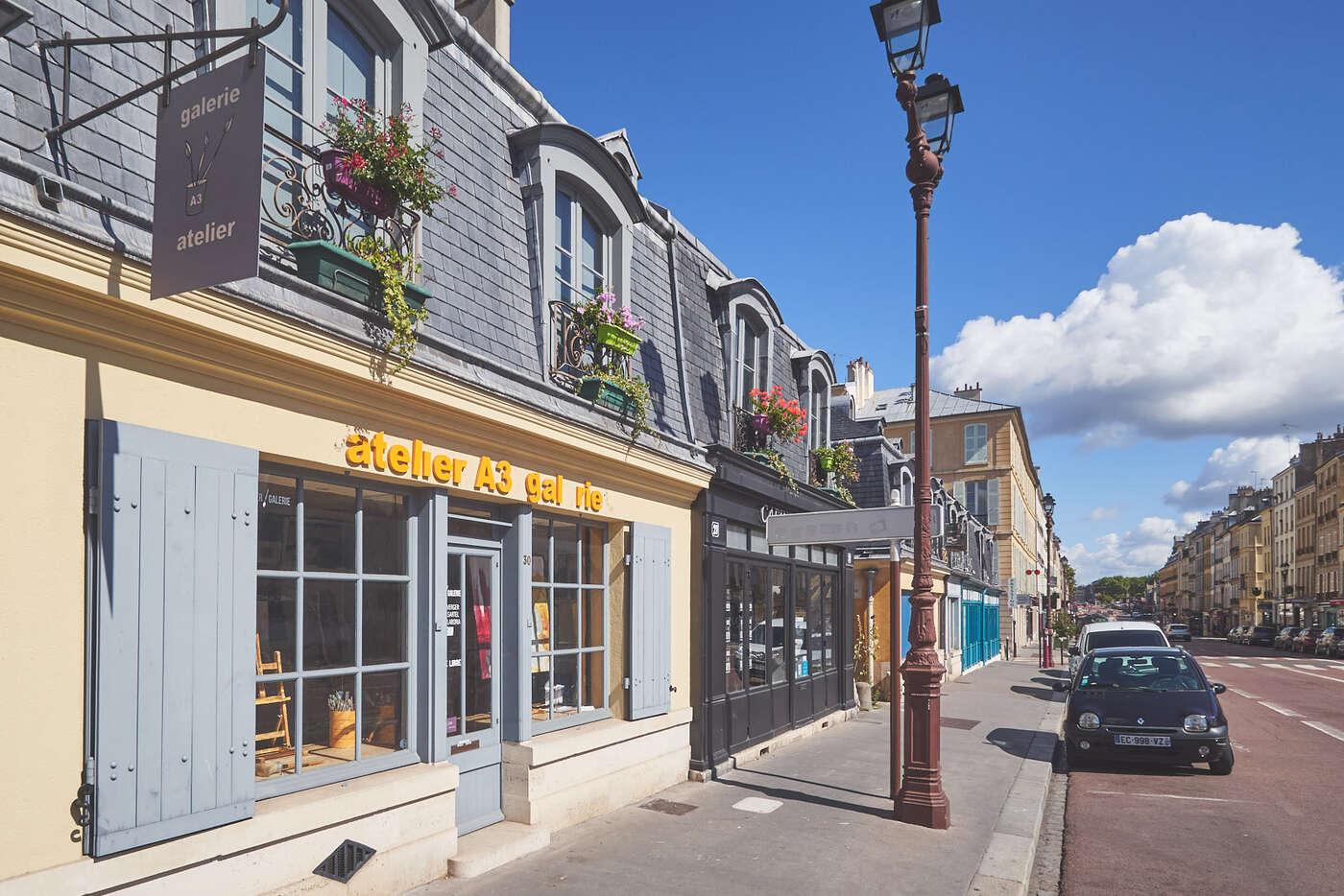 Carré Saint-Louis à Versailles