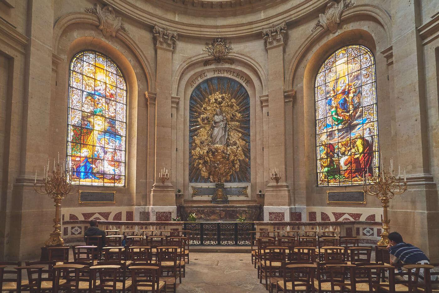 Chapelle de la cathédrale Saint-Louis, Versailles