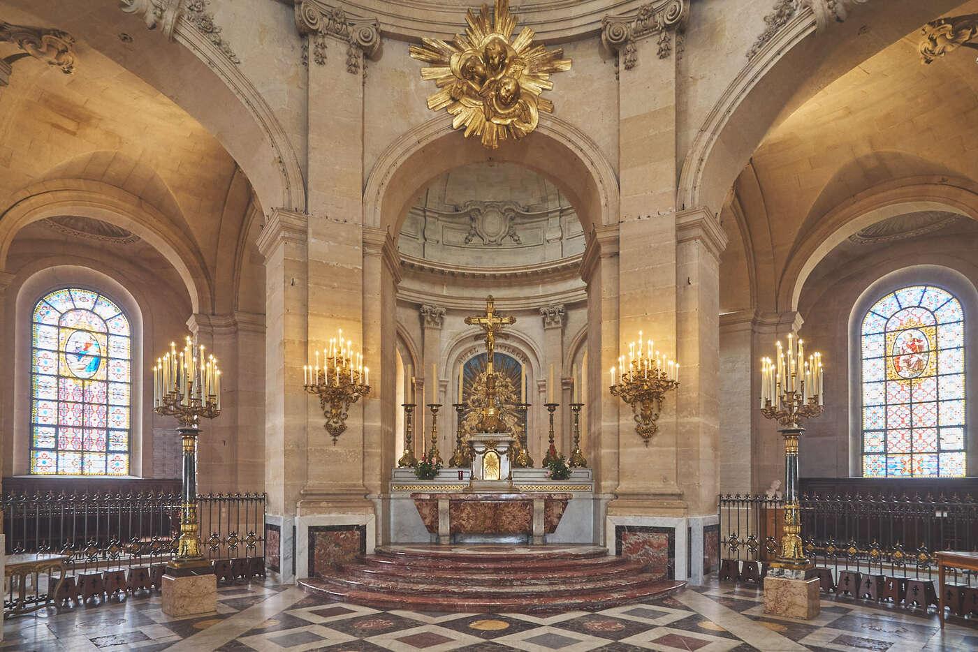 Cathédrale Saint-Louis, Versailles