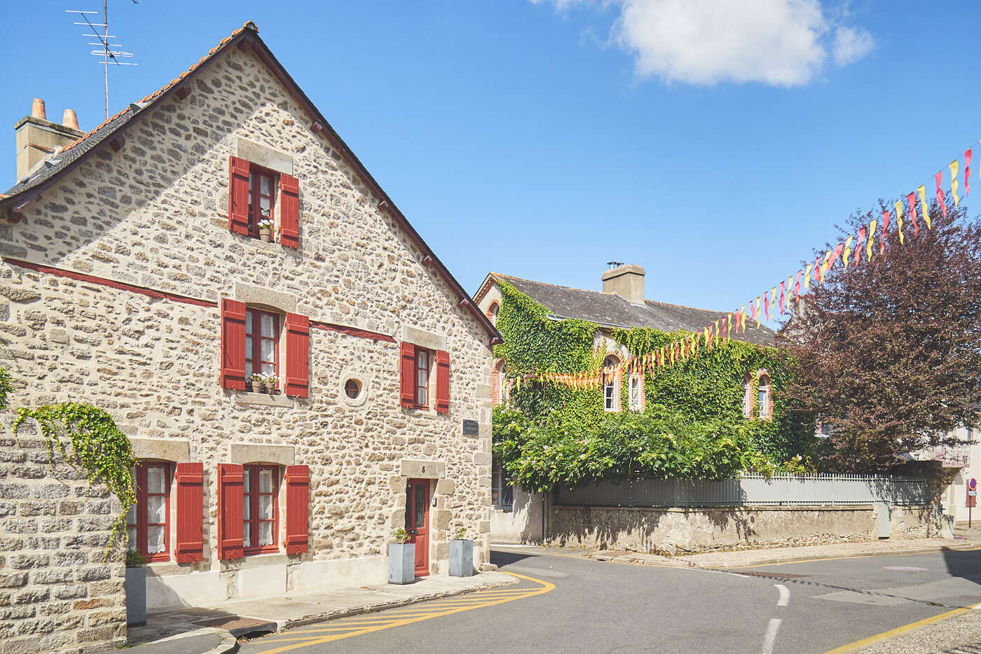Rue Honoré de Balzac à Guérande