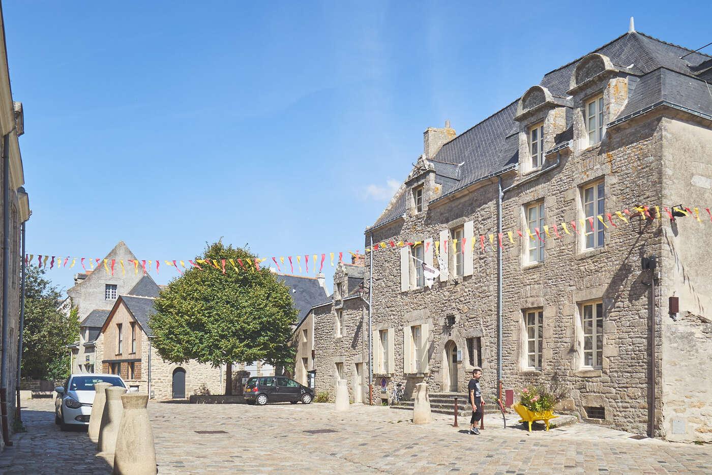 Place du vieux matché de Guérande