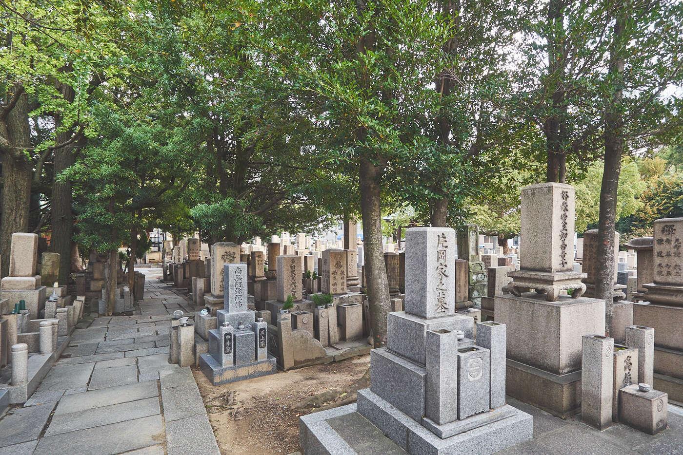 Cimetières au Japon