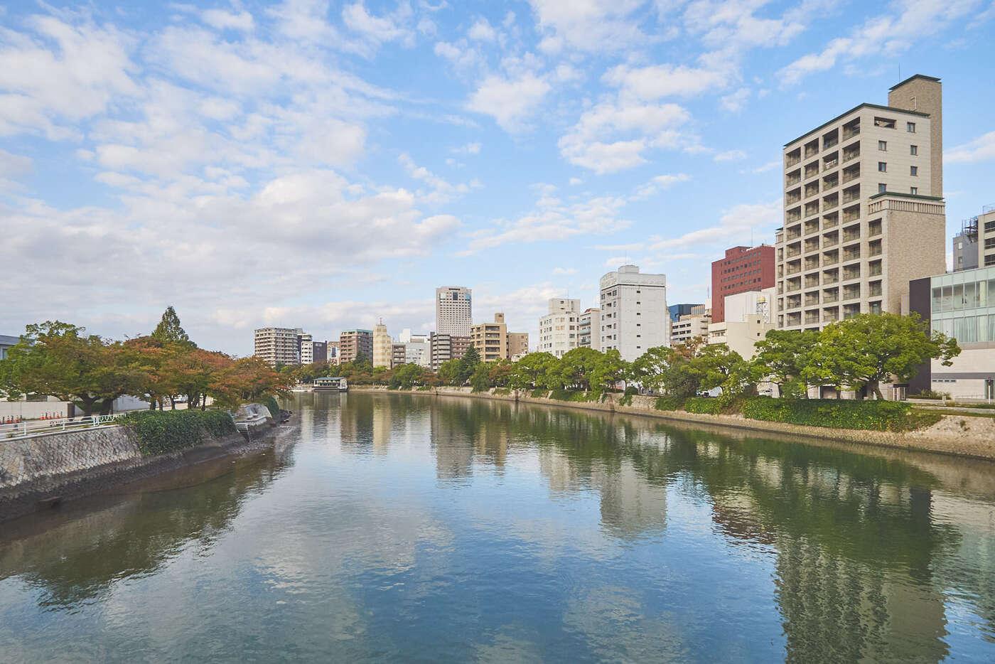 Rivière Motoyasu à Hiroshima