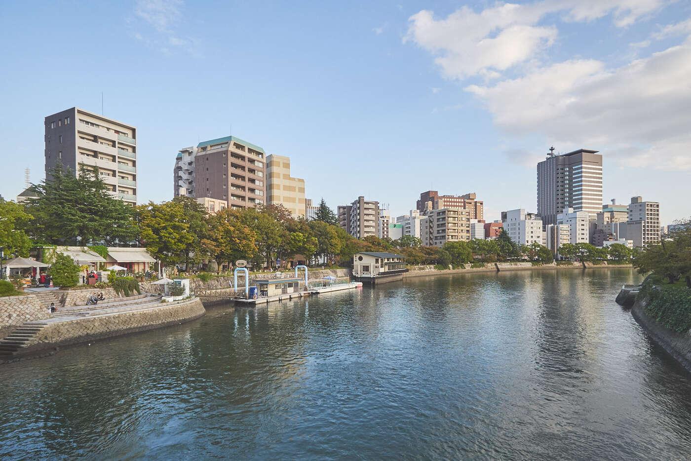 Rivière Motoyasu, hiroshima