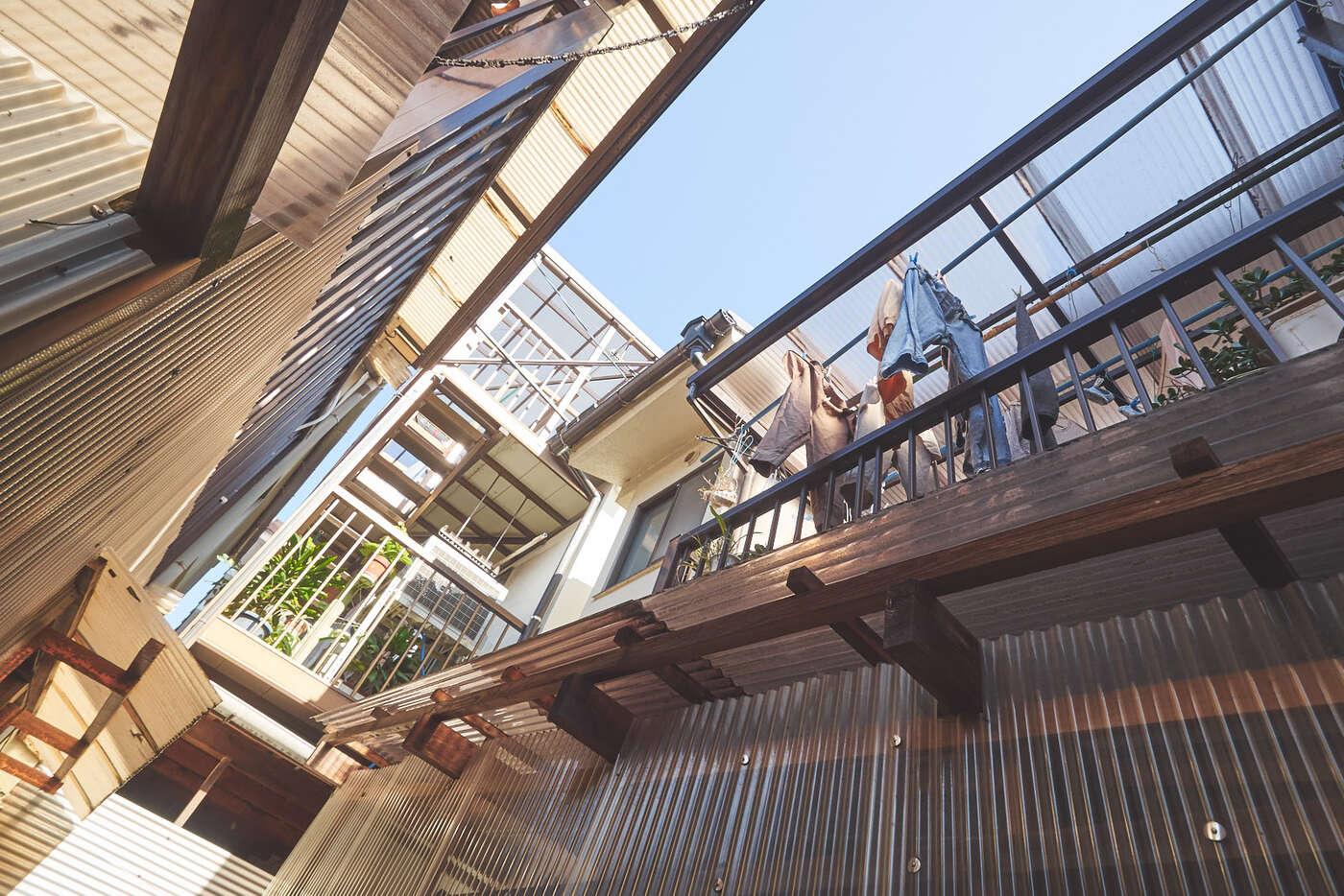 Extensions dans les maisons japonaises