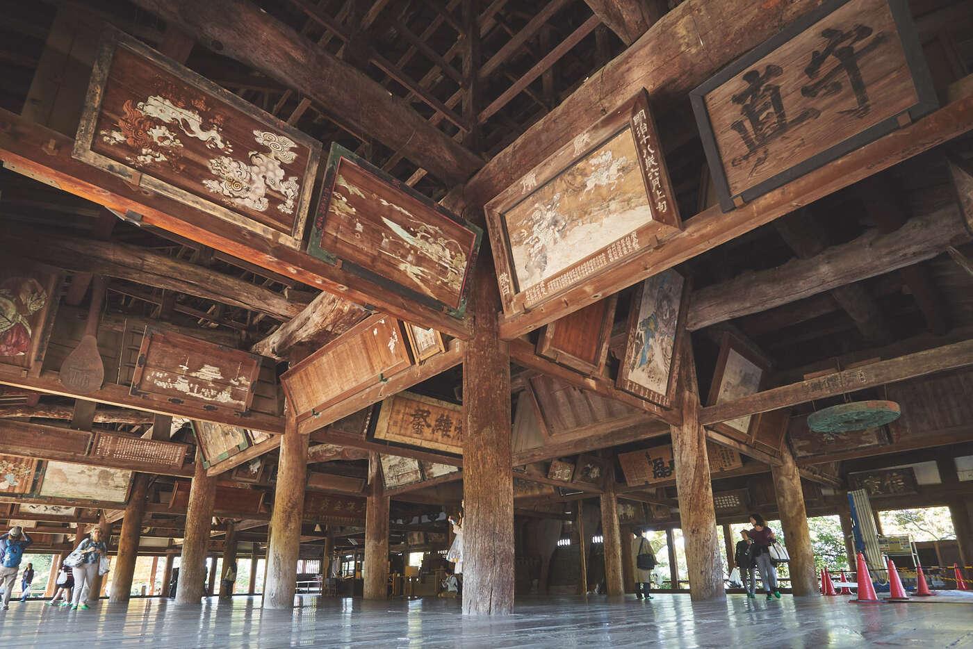 Temple Senjokaku à Miyajima