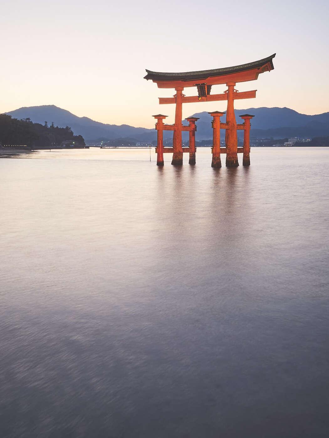 Le Grand Torii, à Miyajima