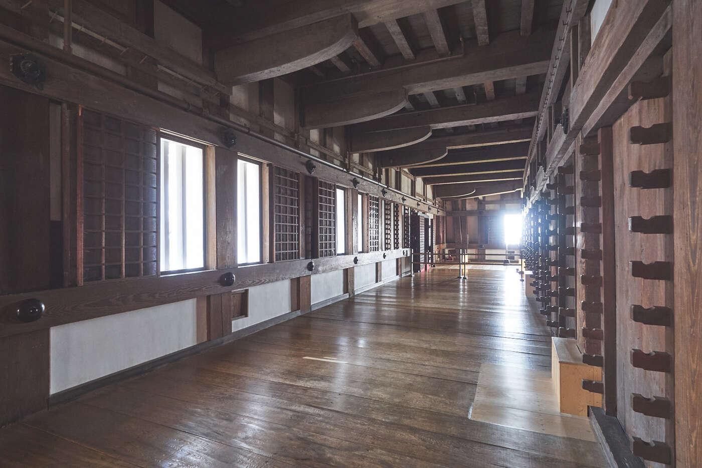 Coursives du Château d'Himeji