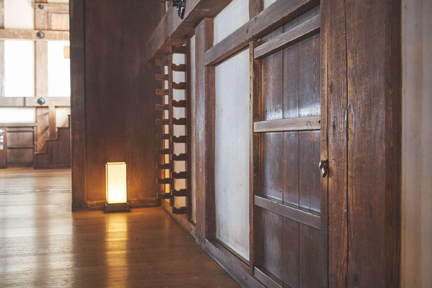 Passage dans le Château d'Himeji