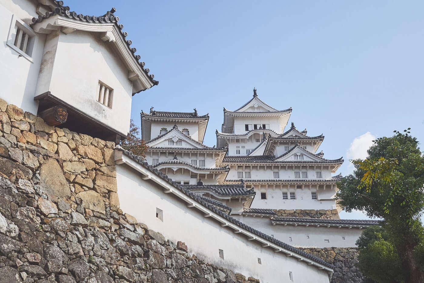 Remparts du Château d'Himeji