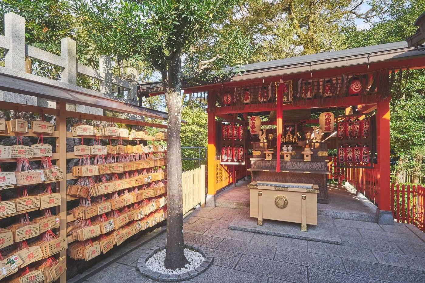 Autels de  Kiyomisudera