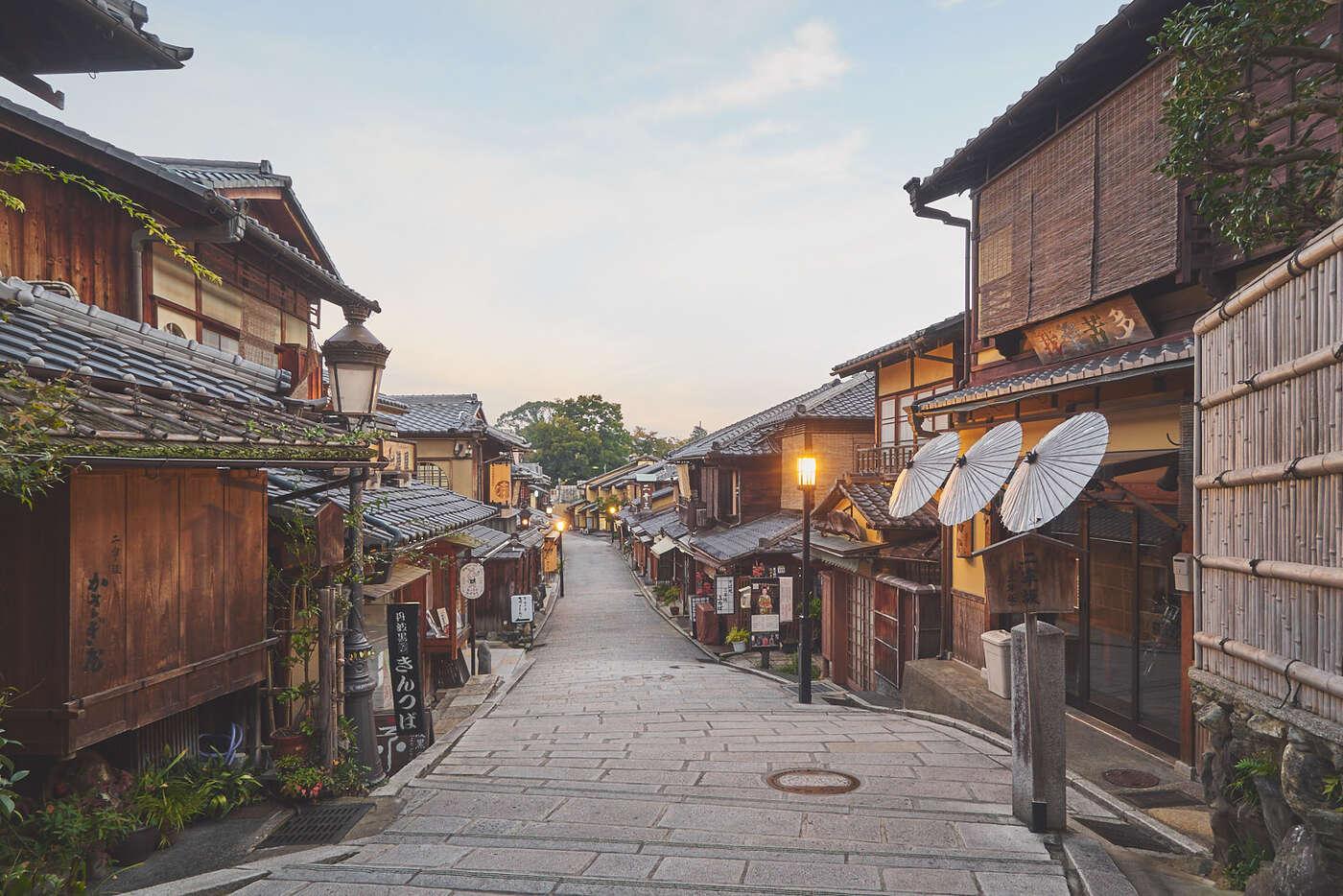 Quartier d'Higashiyama, Kyoto