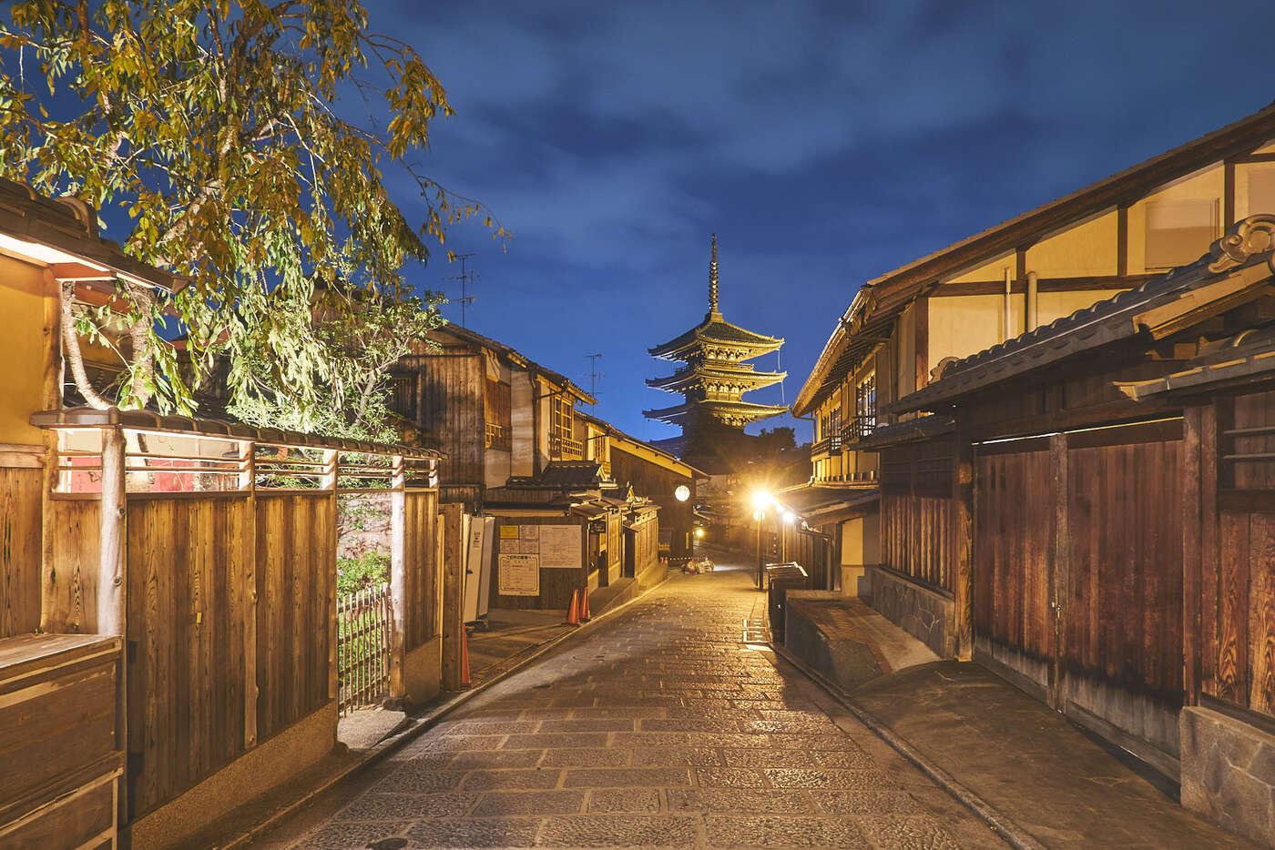 Pagode Yasaka, Kyoto