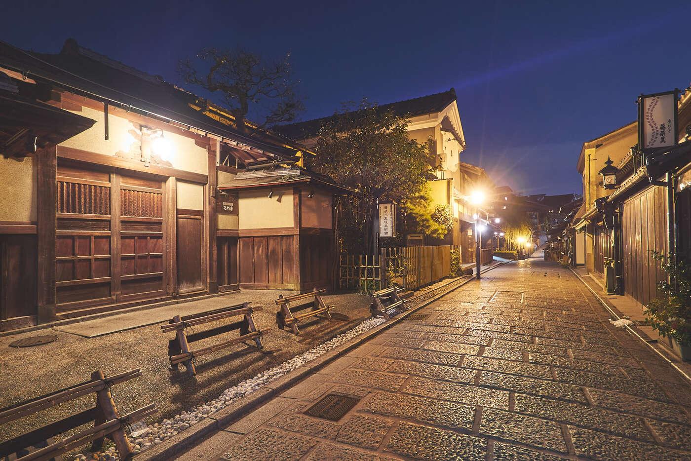 Higashiyama de nuit, Kyoto