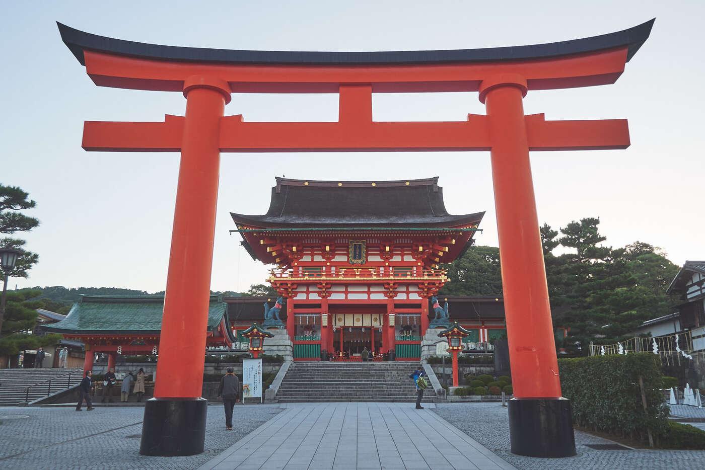 Torii d'entré de Fushimi-Inari