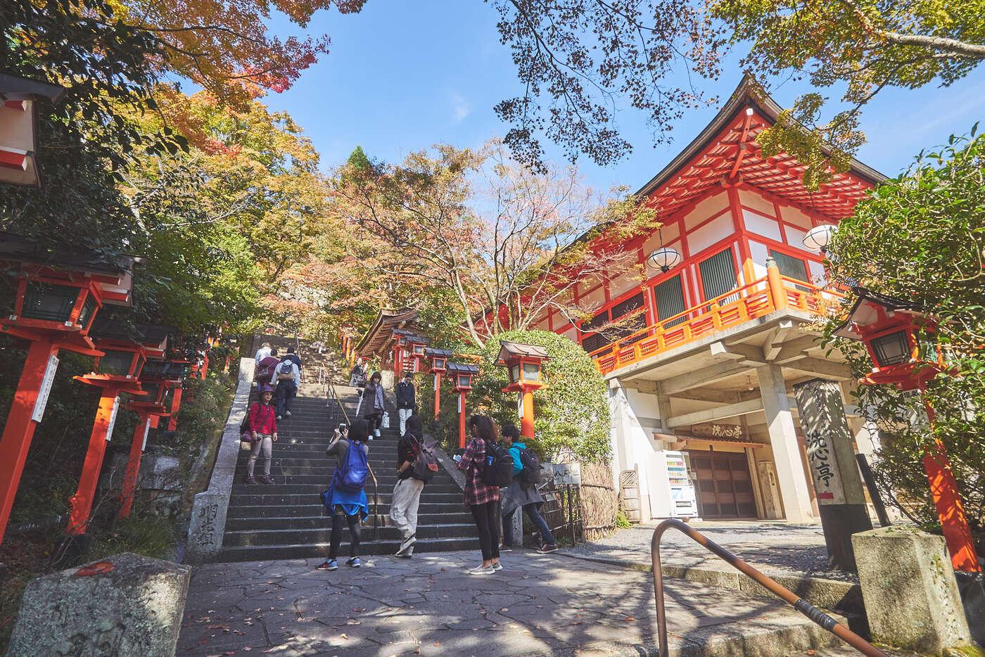 Montée vers Kurama-dera