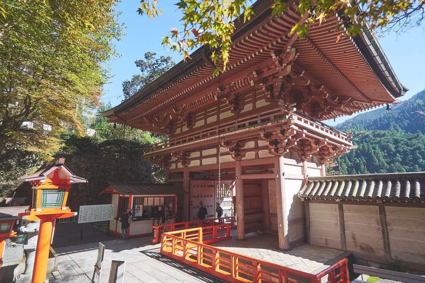 portail de Kurama-dera