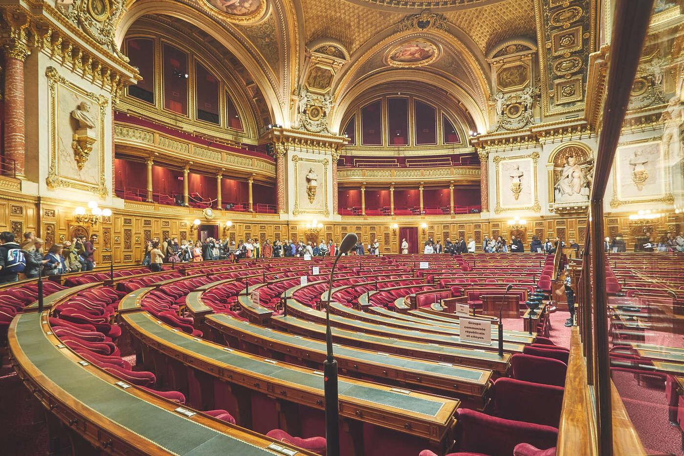 Salle des séances du Sénat