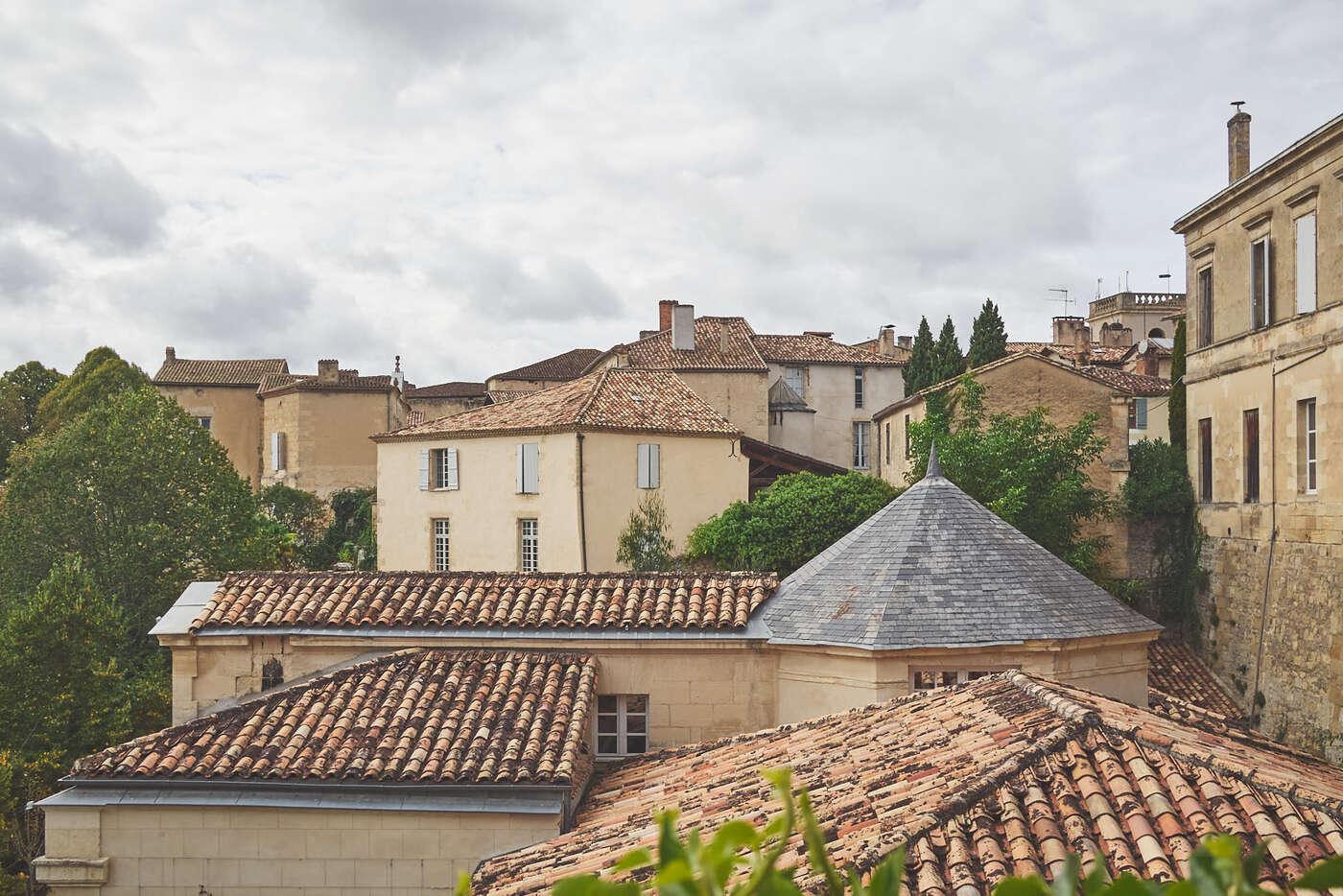 LEs toits de Bazas