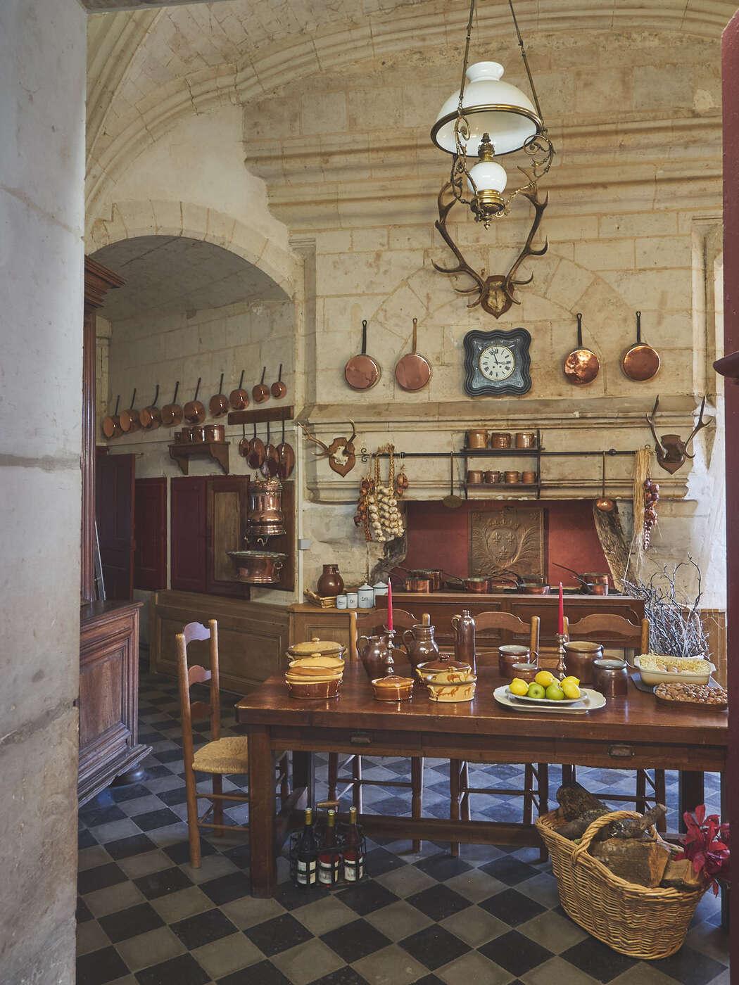 Cuisines du château de Brissac